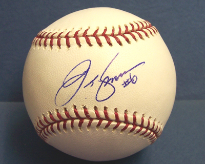 b436548899f Official Major League Baseball autographed by J.T. Snow (Gold Glove 1st  Baseman