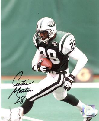 d5d4d15e9 Curtis Martin Autographed 8x10