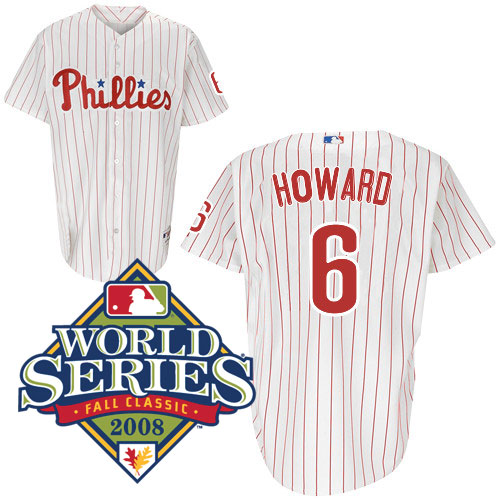 timeless design cc54e a27c6 Ryan Howard Autographed Jersey